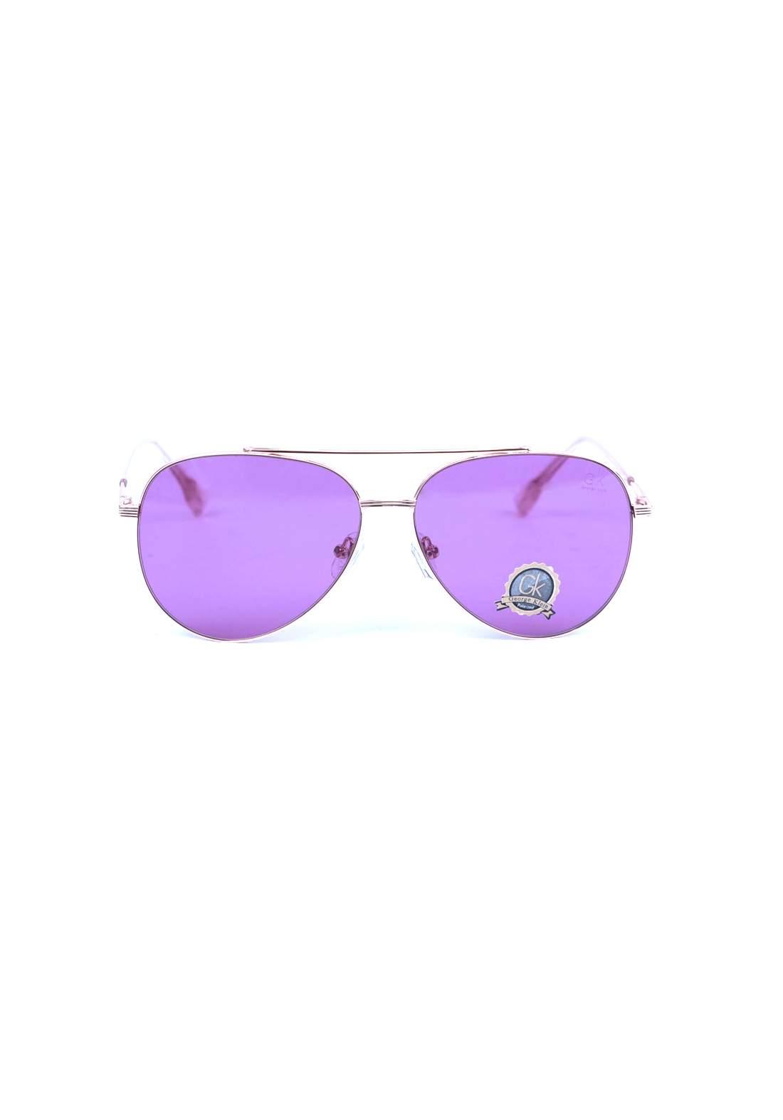 نظارات نسائية من جي كي بنفسجية اللون