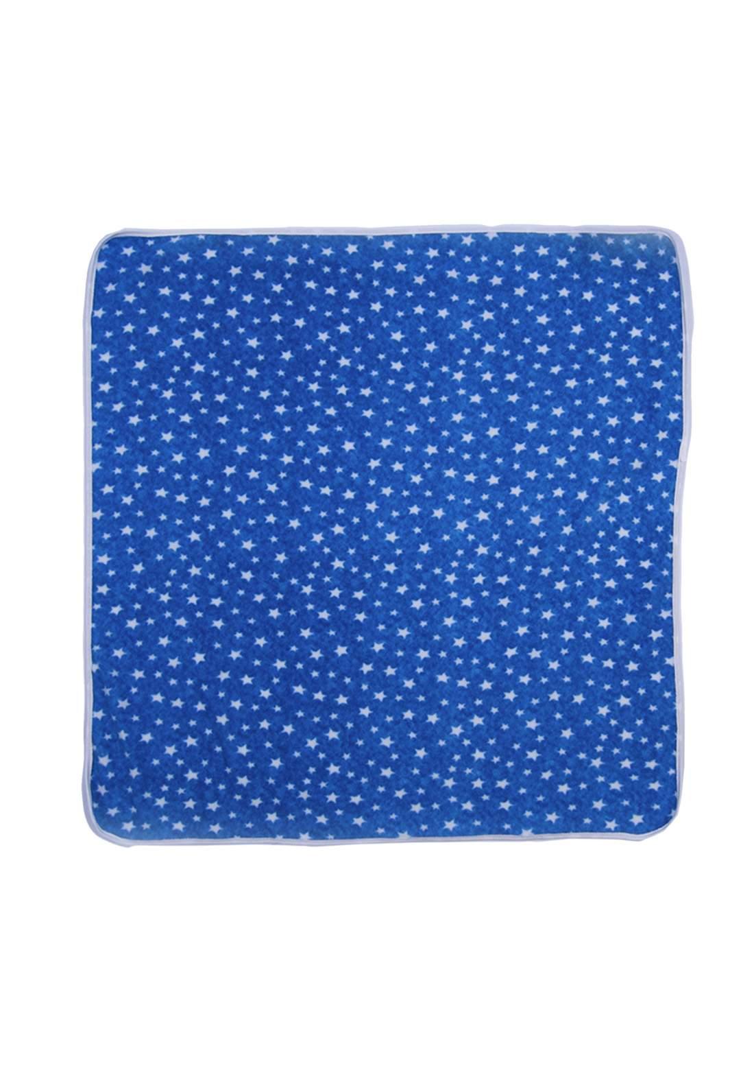 غطاء للاطفال أزرق اللون
