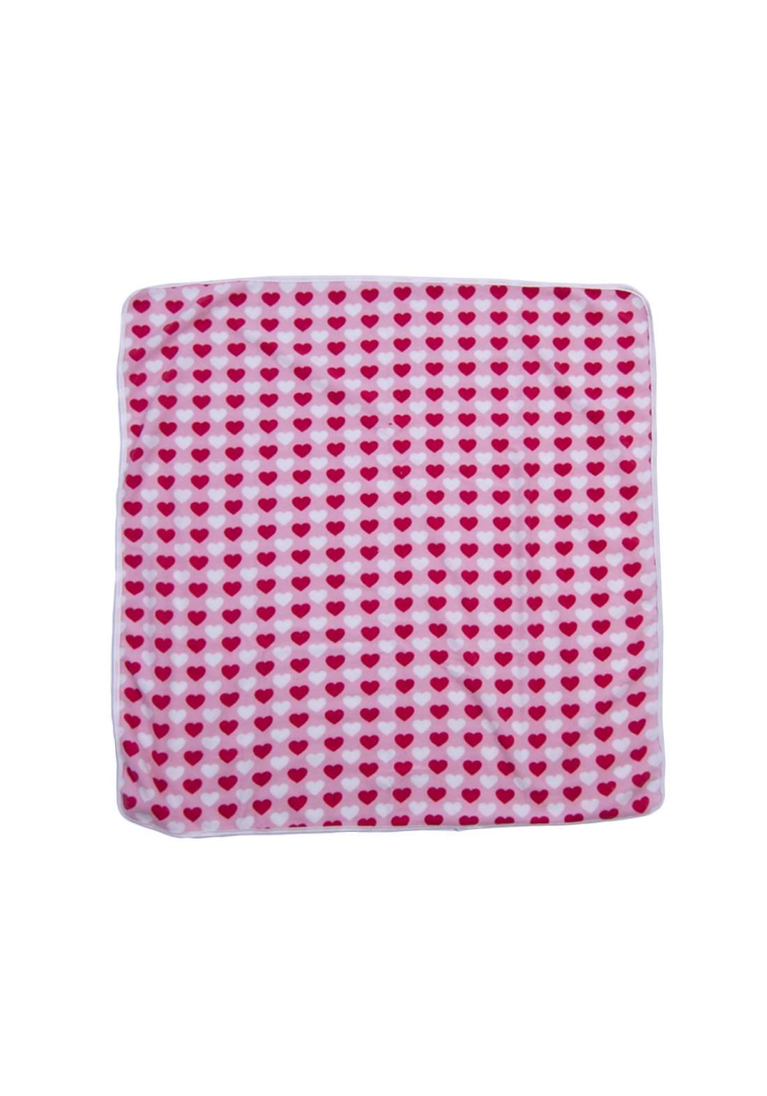 غطاء  للاطفال  وردي اللون