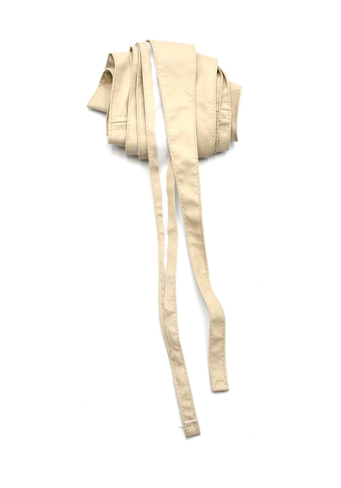حزام نسائي بيج اللون 204 سم