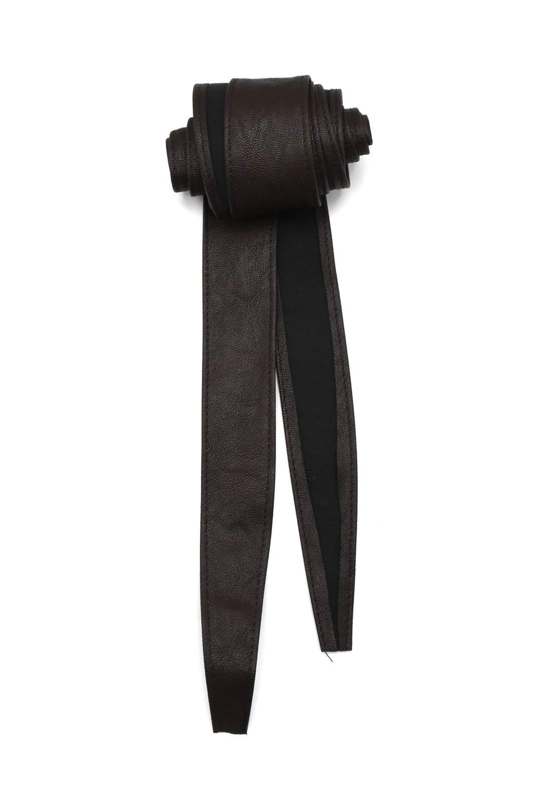 حزام نسائي بني اللون  204 سم