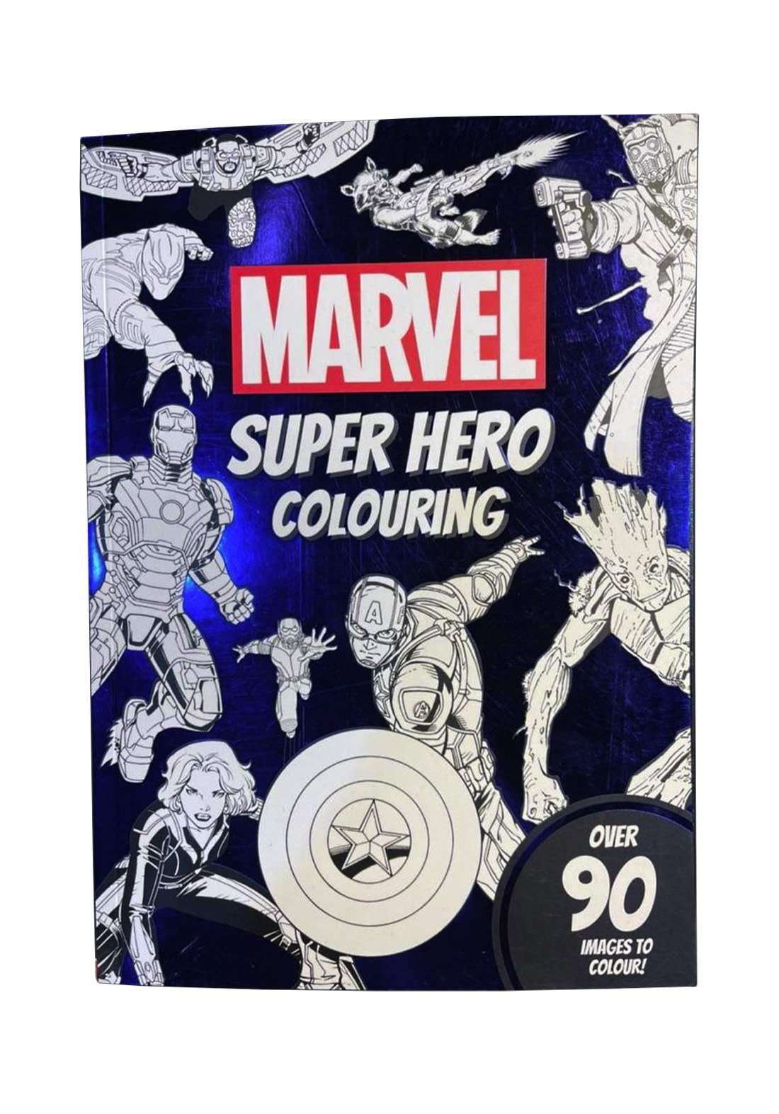 Marvel, Super Hero Colouring Book