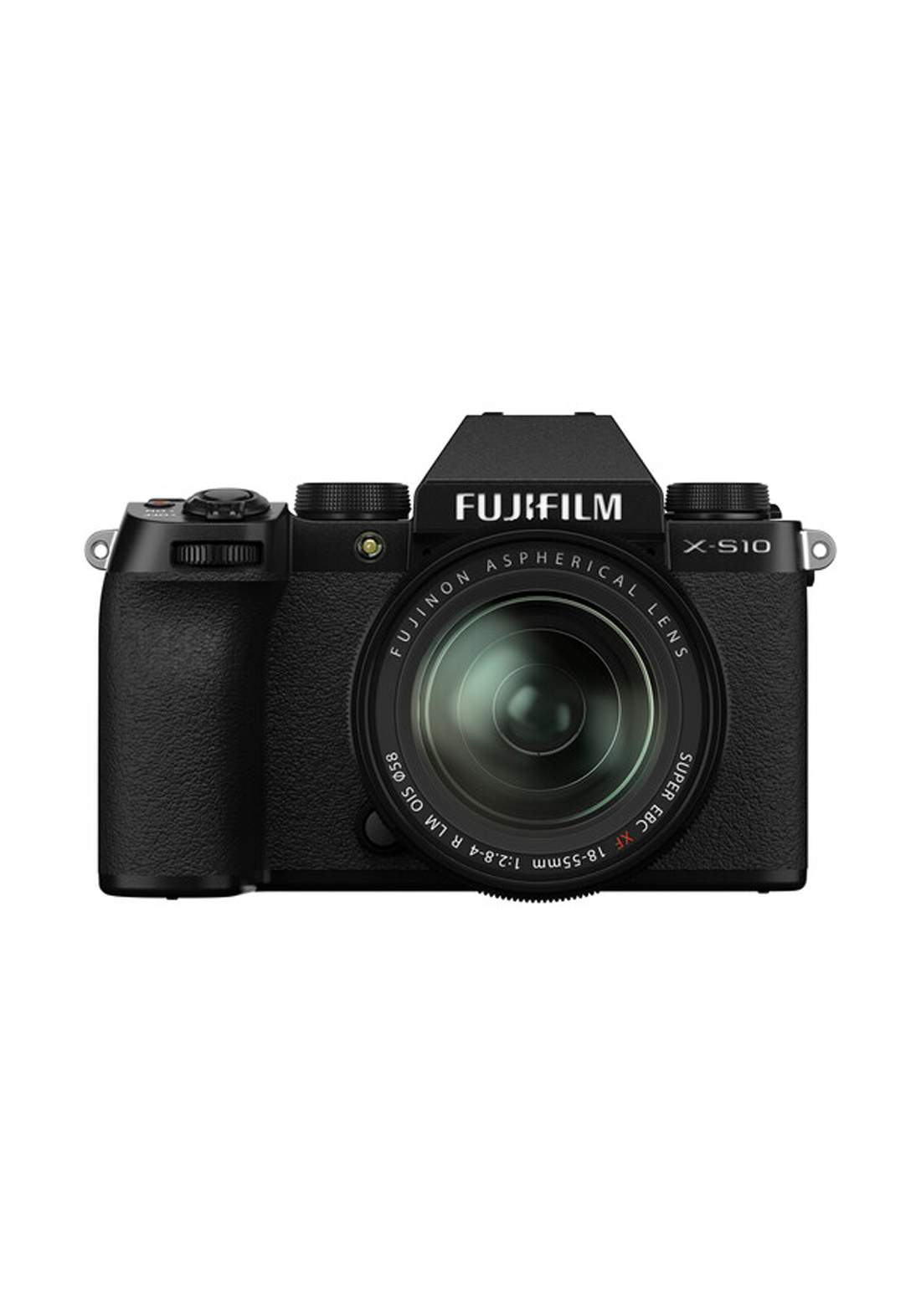 Fujifilm X-S10 Mirrorless Digital Camera with 18-55mm Lens - Black كاميرا