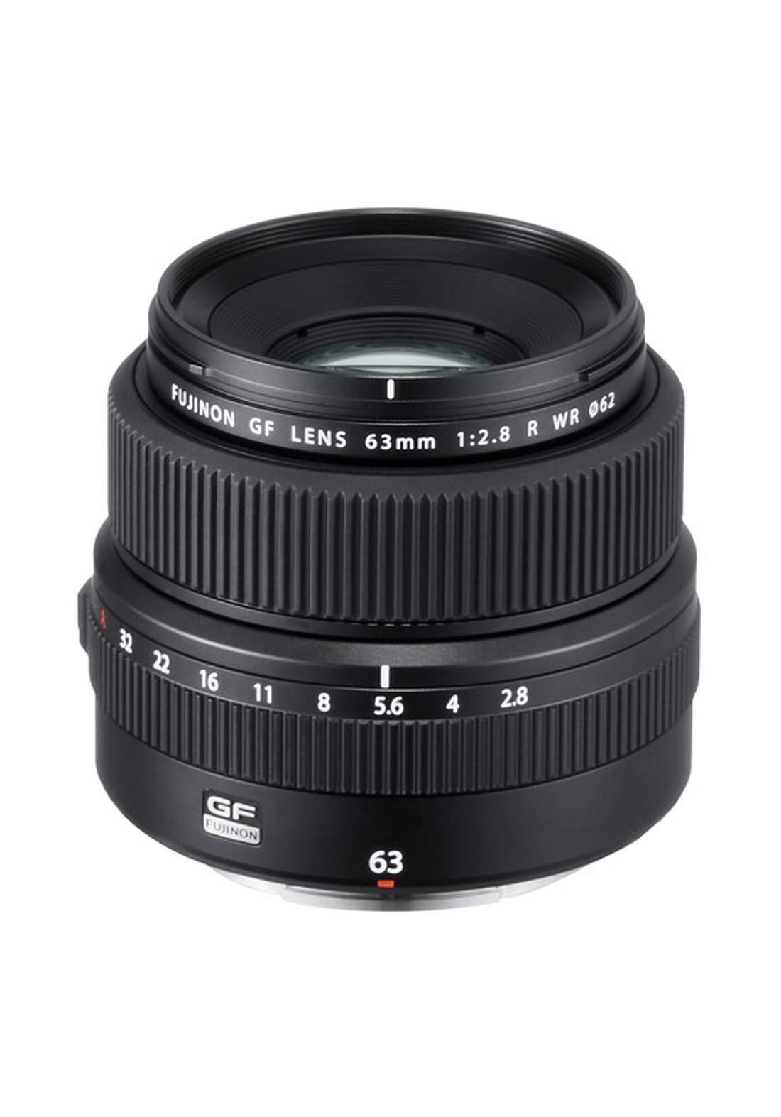 Fujifilm GF 63mm F2.8 R WR Lens - Black عدسة كاميرا