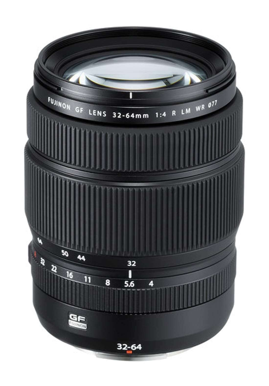 Fujifilm  GF 32-64mm F4 R LM WR Lens - Black عدسة كاميرا