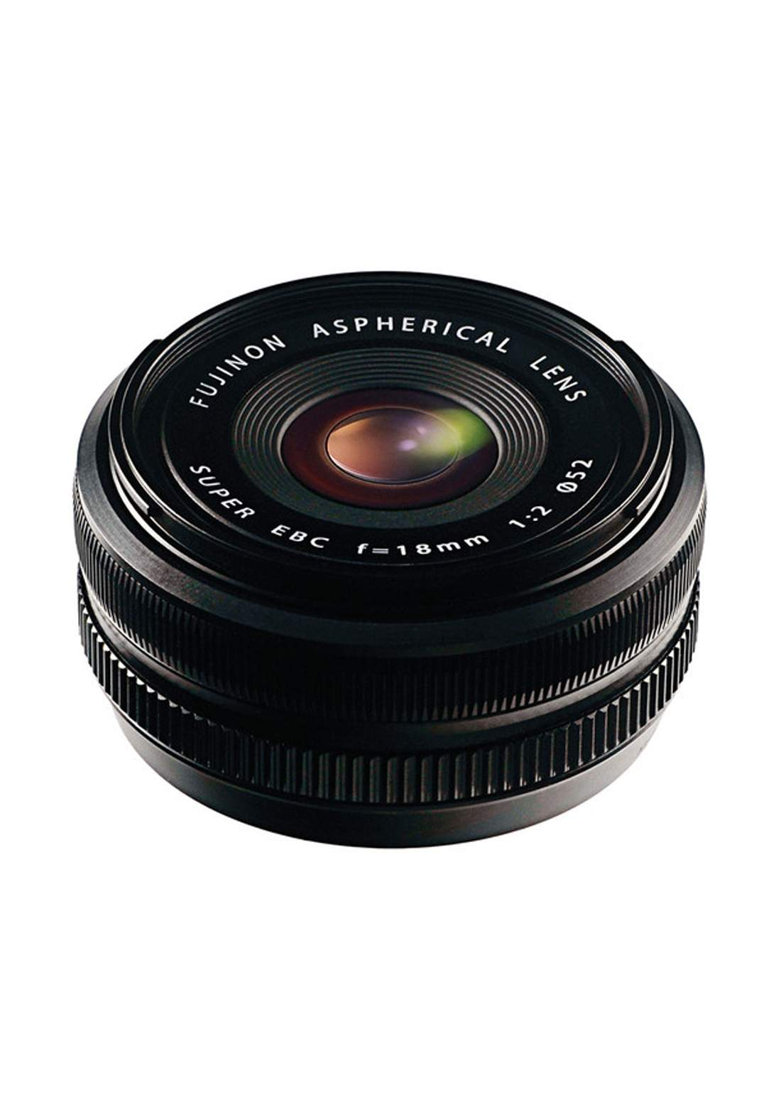 Fujifilm XF 18mm F2 R Lens - Black عدسة كاميرا