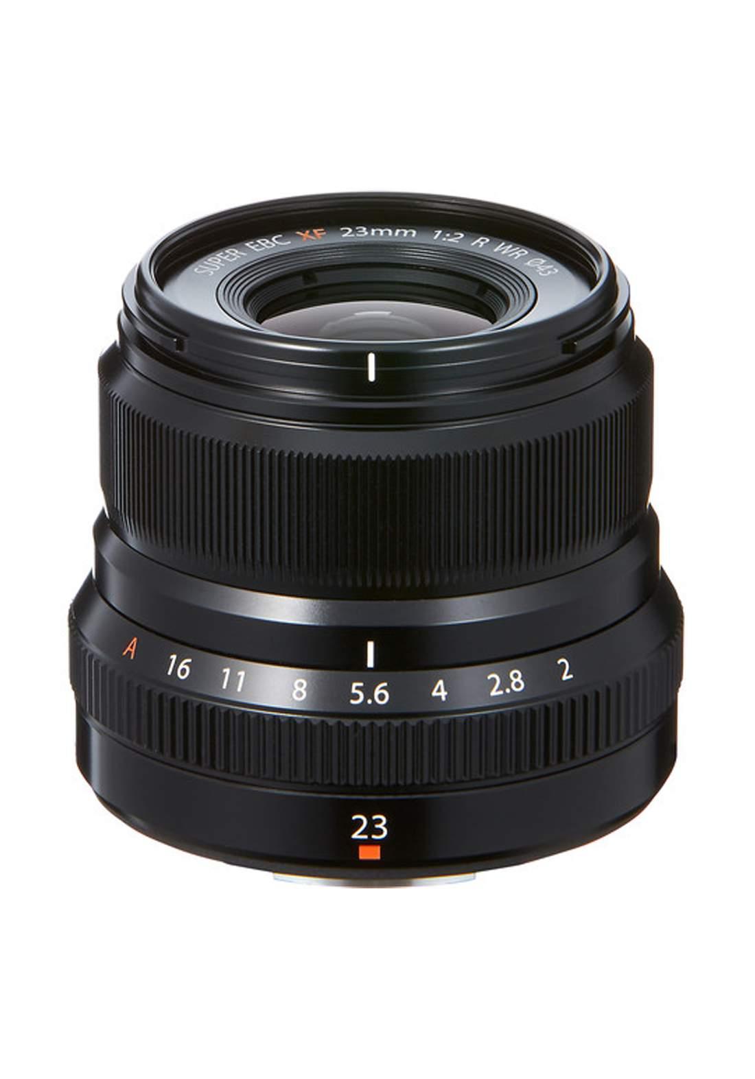 Fujifilm XF 23mm F2 R WR Lens  - Black عدسة كاميرا