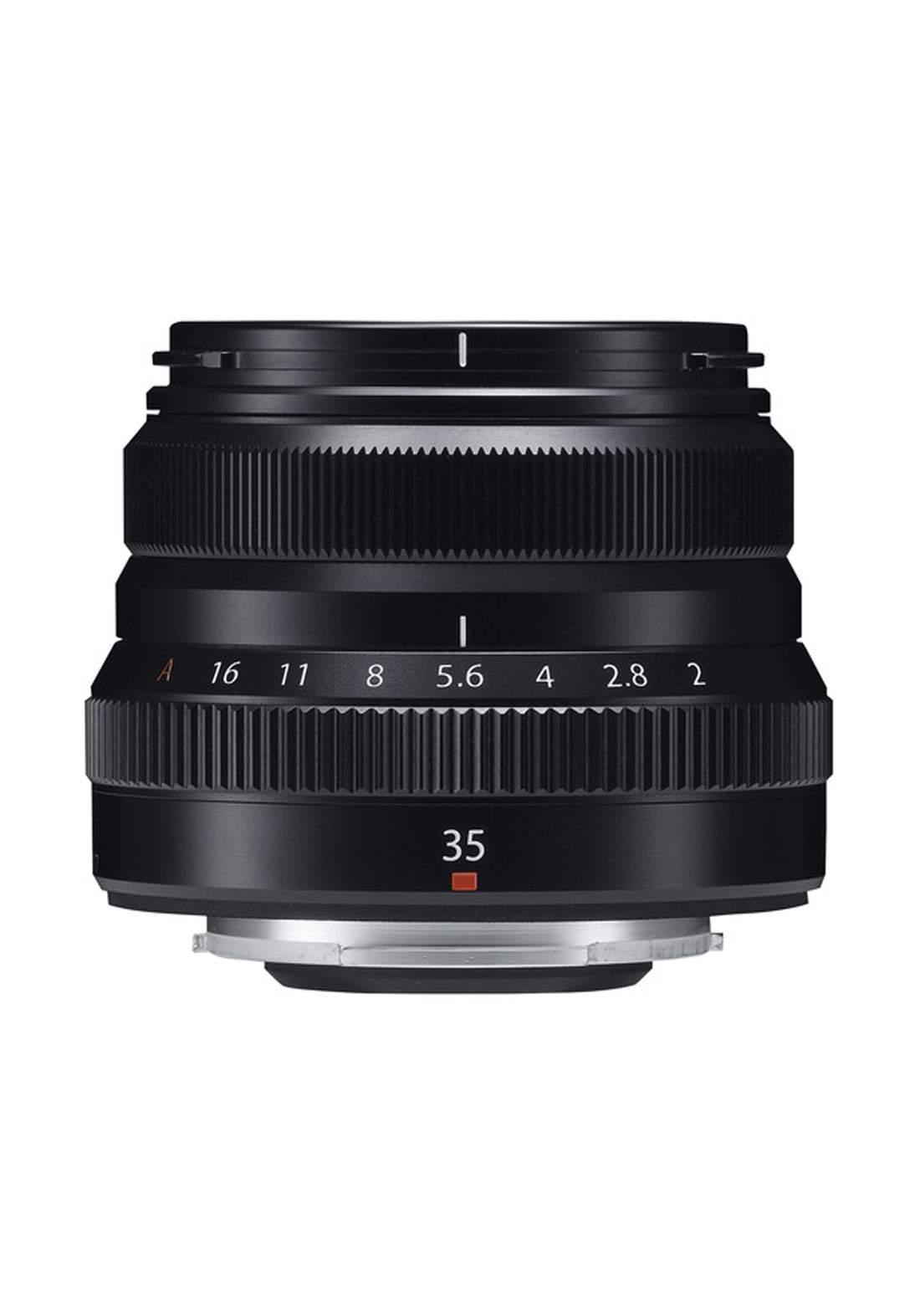 Fujifilm XF 35mm F2 R WR Lens  - Black عدسة كاميرا