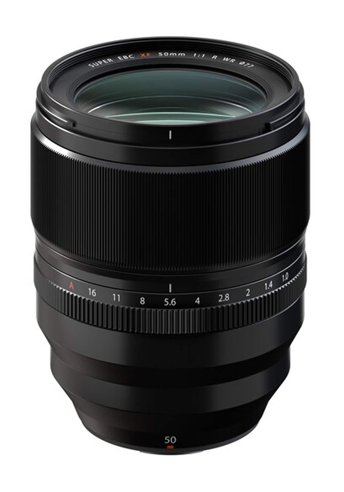 Fujifilm XF 50mm F1.0 R WR Lens  - Black عدسة كاميرا