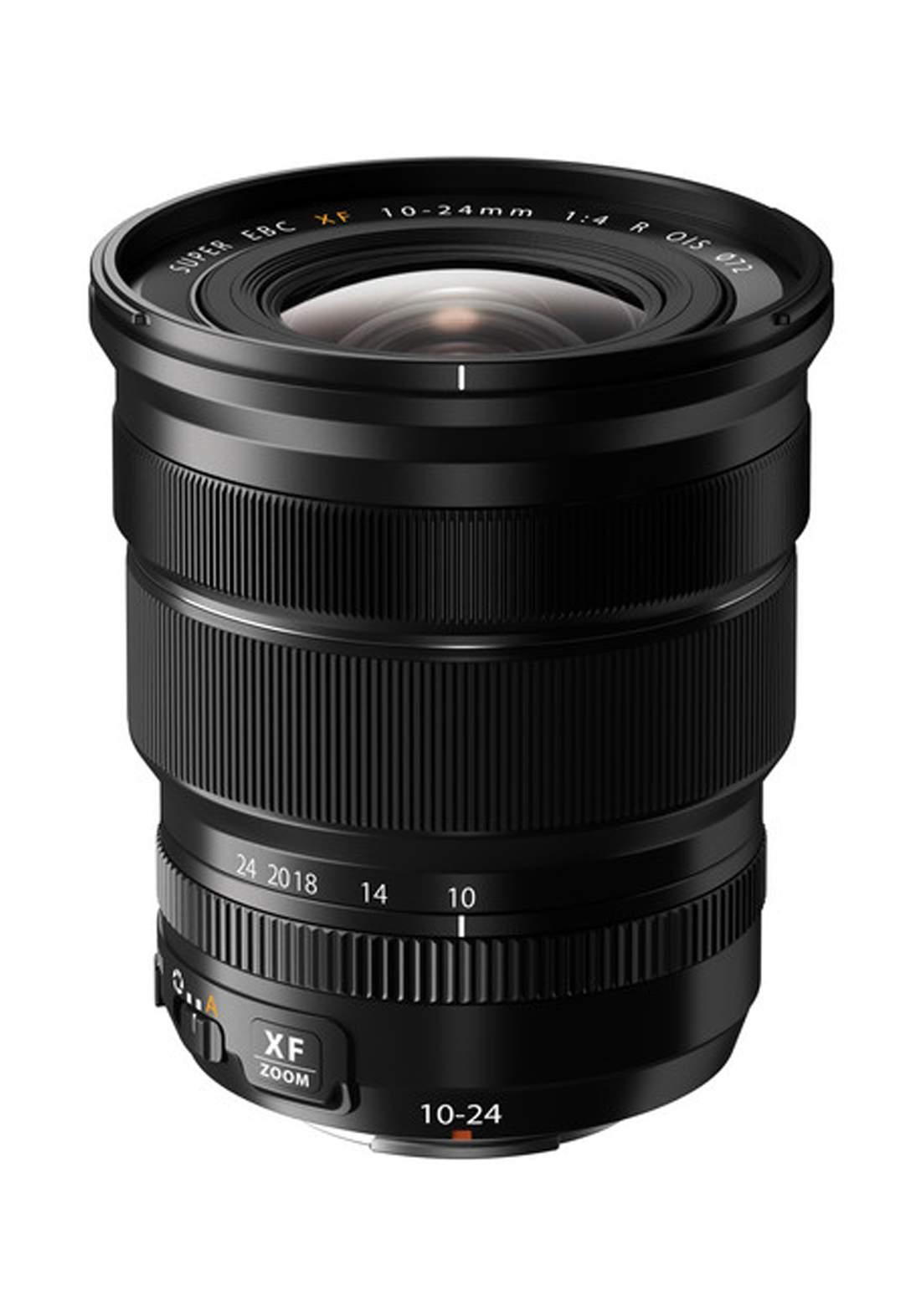 Fujifilm XF 10-24mm F4 R OIS Lens  - Black عدسة كاميرا