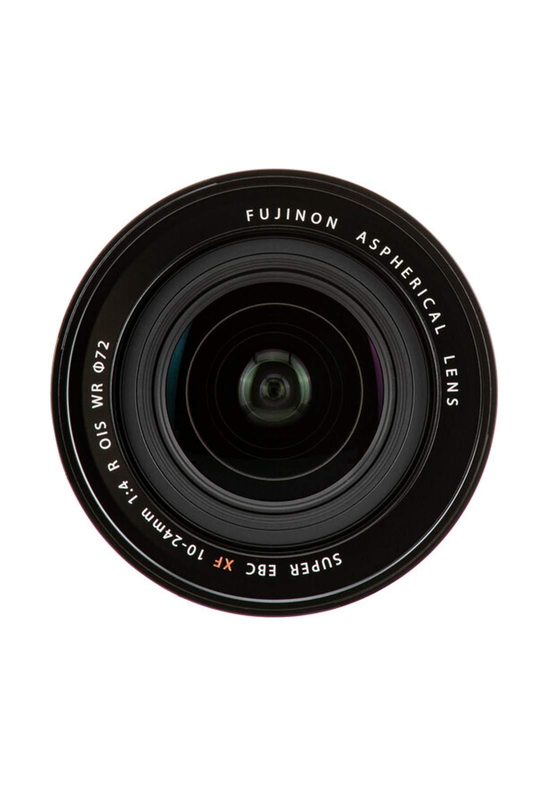 Fujifilm XF 10-24mm F4 R OIS WR Lens  - Black عدسة كاميرا