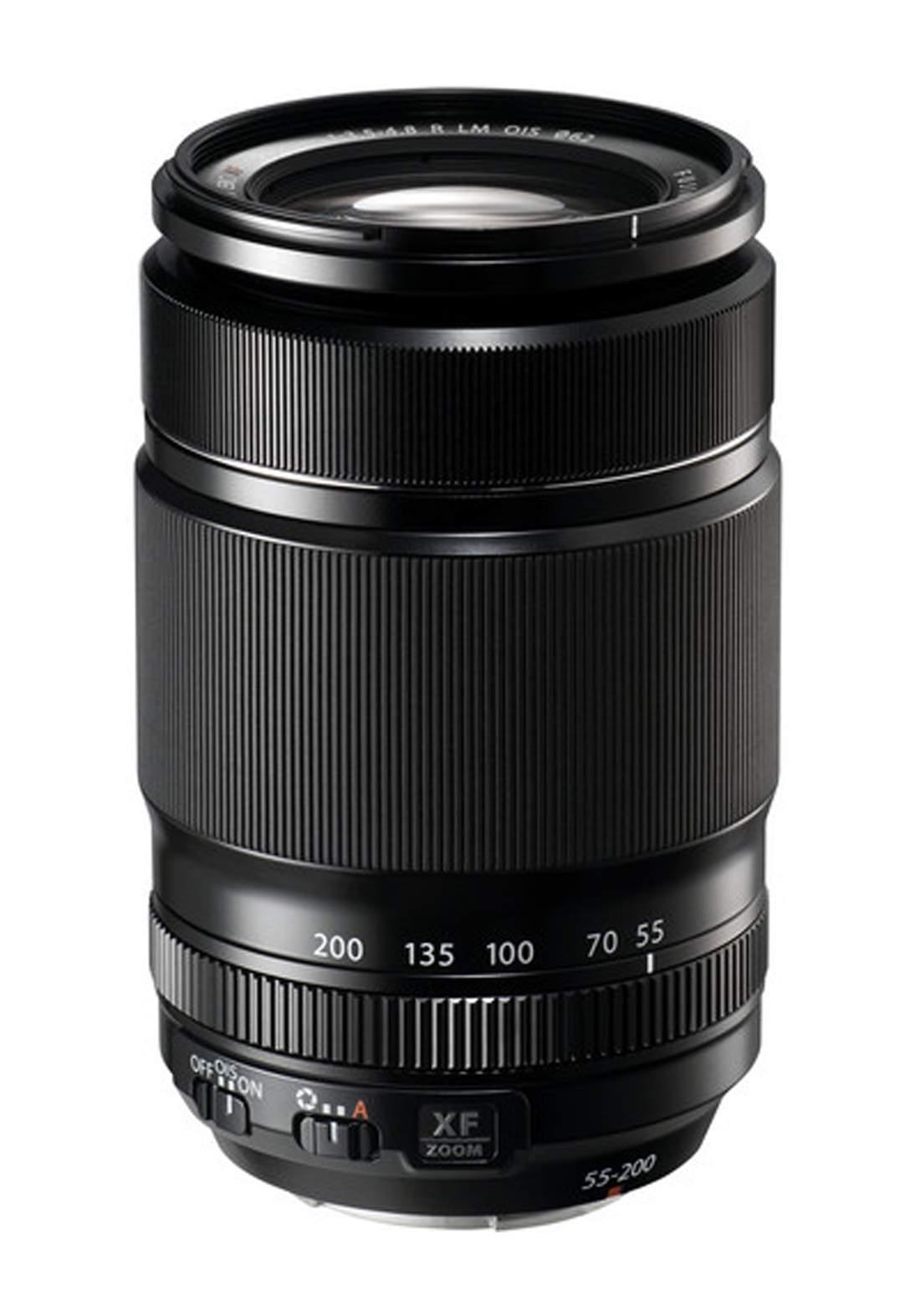 Fujifilm XF 55-200mm F3.5-4.8 R LM OIS Lens  - Black عدسة كاميرا