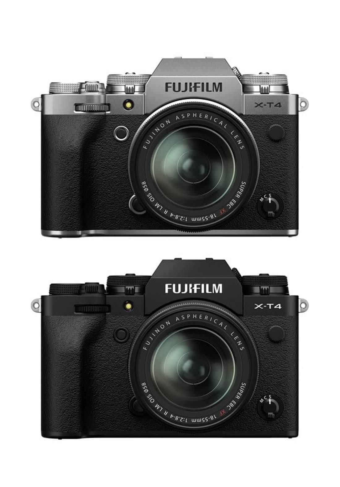 Fujifilm X-T4  18-55mm Mirrorless Digital Camera كاميرا