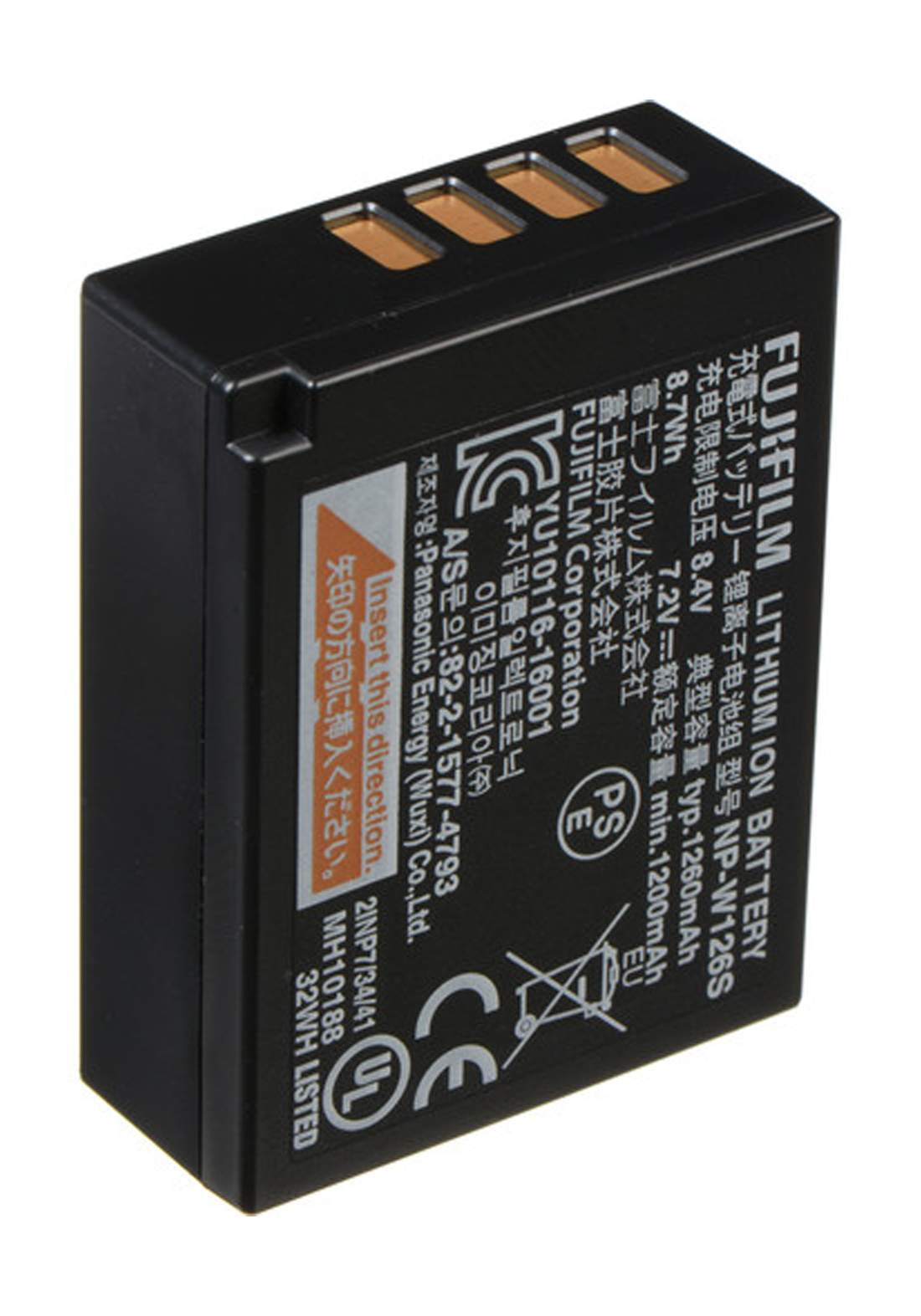 Fujifilm NP-W126S  (X-T3) Li-Ion Battery Pack - Black  بطارية كاميرا