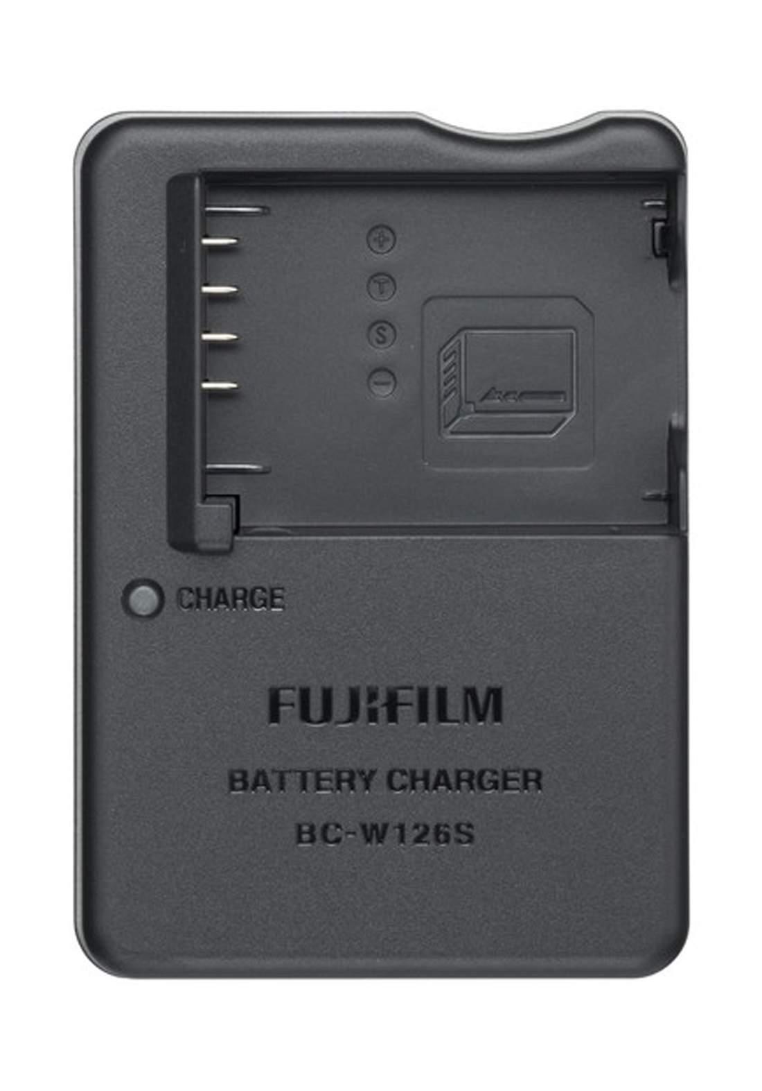 Fujifilm BC-W126S Battery Charger  - Black    شاحن بطارية كاميرا