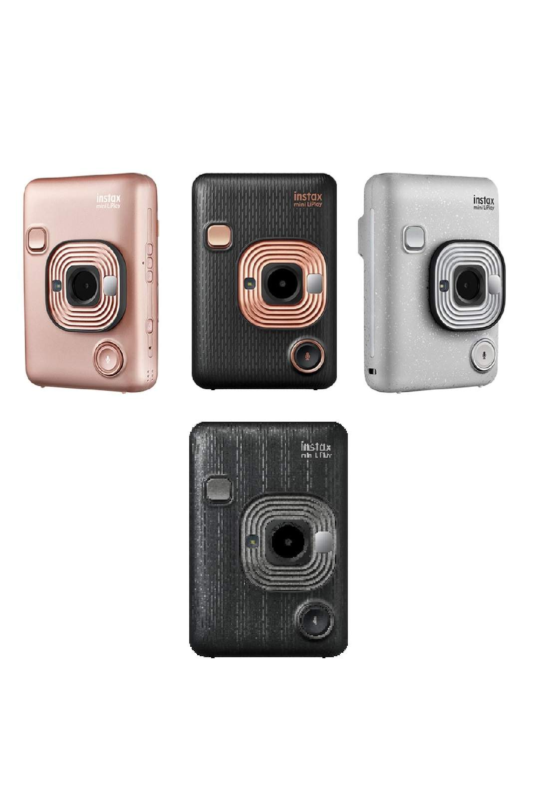 Fujifilm  Hybrid Mini LiPlay Stone Instax Camera كاميرا