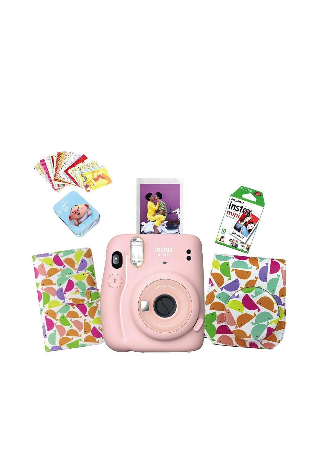 Fujifilm Instax LifeStyle Pack Mini11 Camera Package - Gray كاميرا فورية