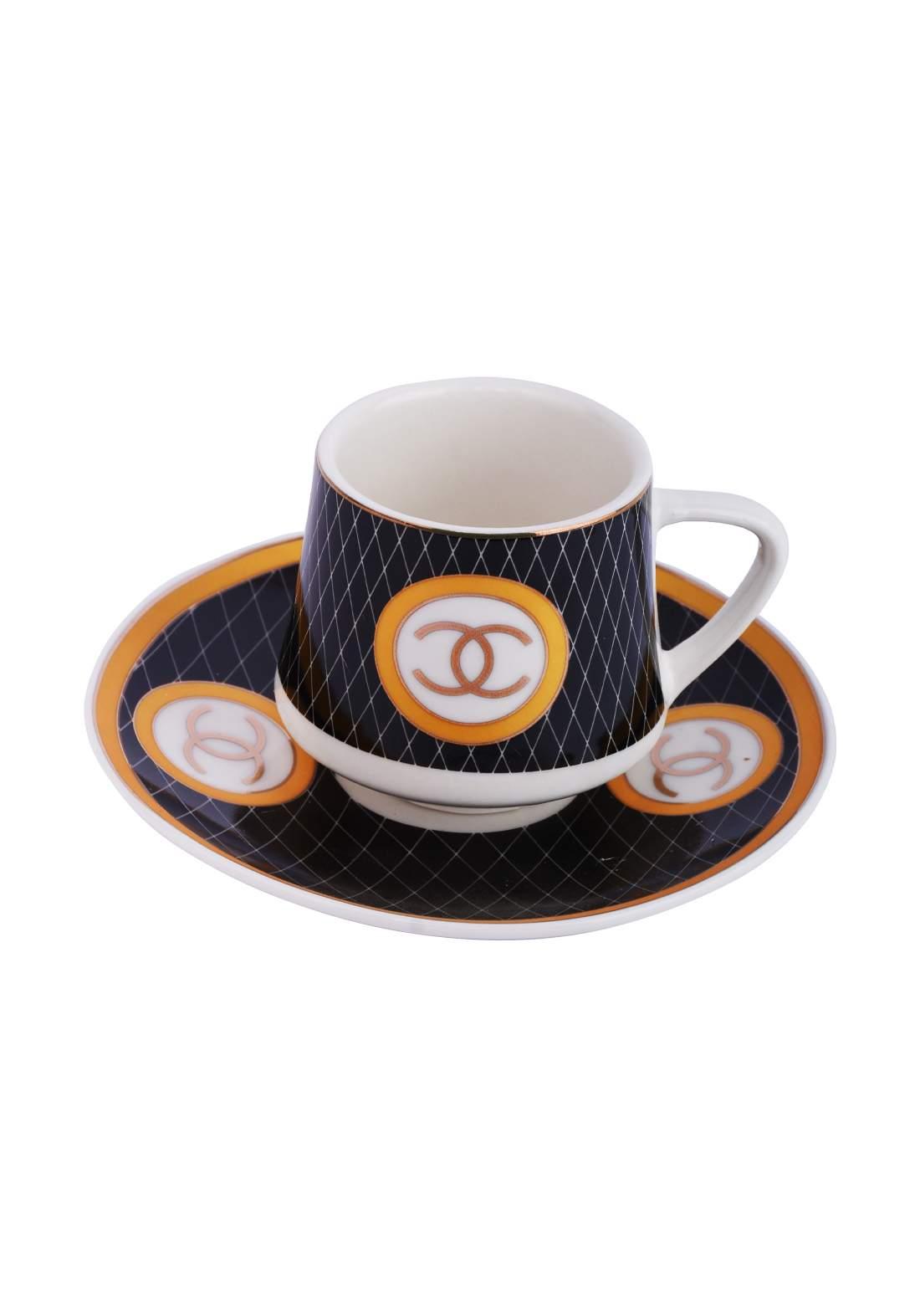 سيت فناجين قهوة 6 قطع 2857