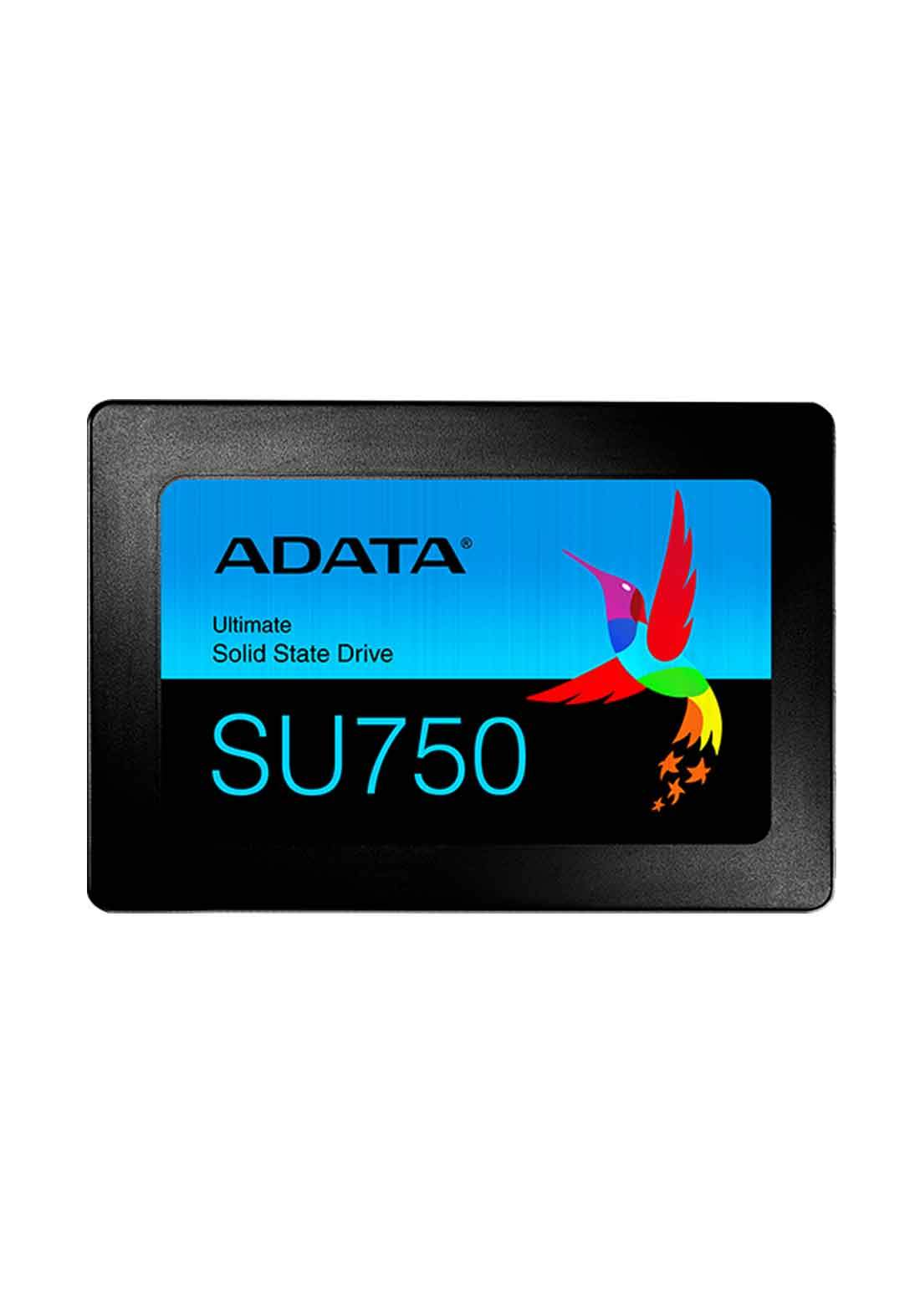 ADATA SU750 SATA Internal Solid State Drive  256GB - Black هارد داخلي