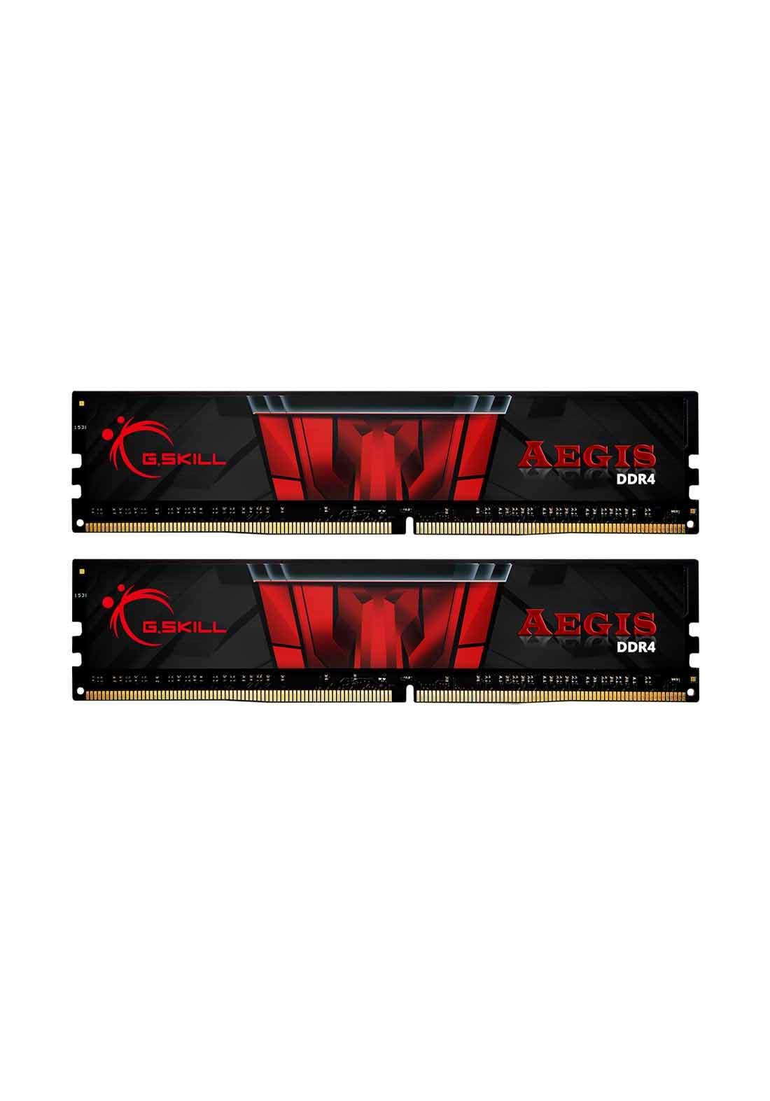 G.SKILL F4-3000C16D-16GISB Aegis Series 16GB DDR4 - Red