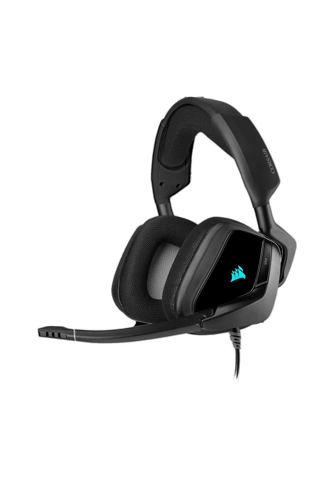 Corsair Void RGB Elite USB Gaming Headset - Black سماعة