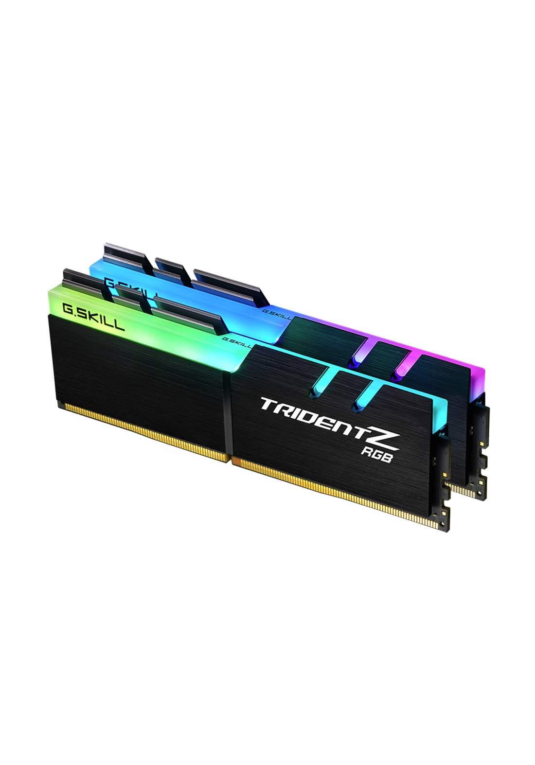 G.SKILL TridentZ RGB 16GB (2 x 8GB) DDR4 3000 Mhz Desktop Memory هارد