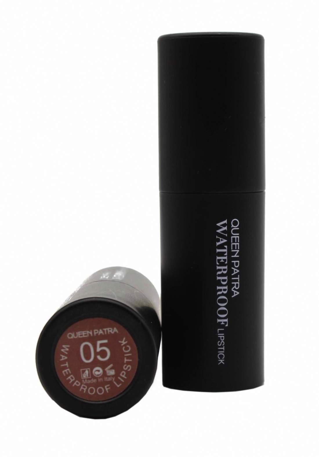 Queen Batra Waterproof Lipstick No.05 احمر شفاه