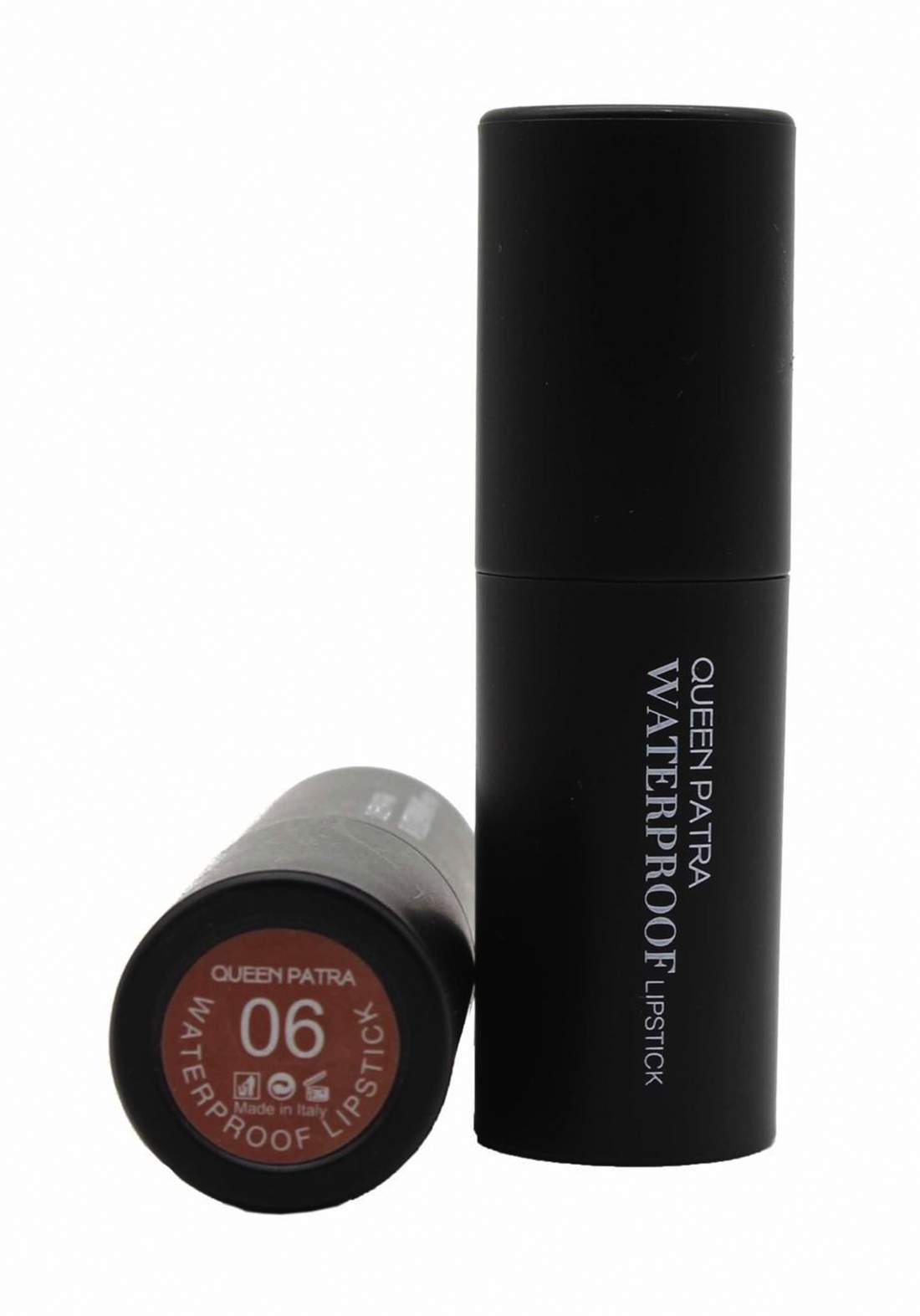 Queen Batra Waterproof Lipstick No.06 احمر شفاه