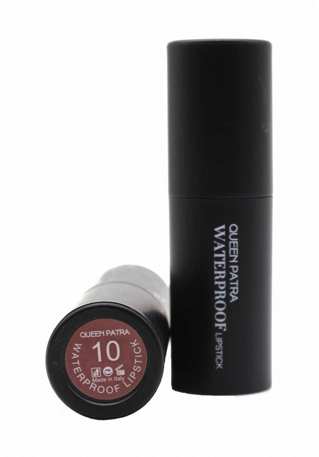 Queen Batra Waterproof Lipstick No.010 احمر شفاه