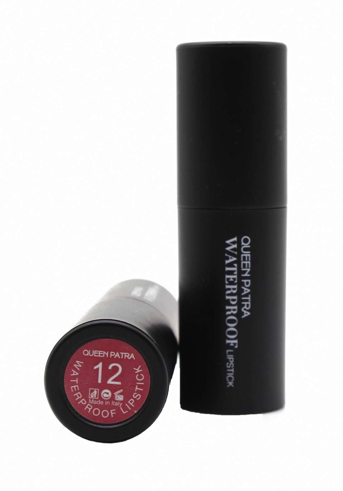 Queen Batra Waterproof Lipstick No.012 احمر شفاه