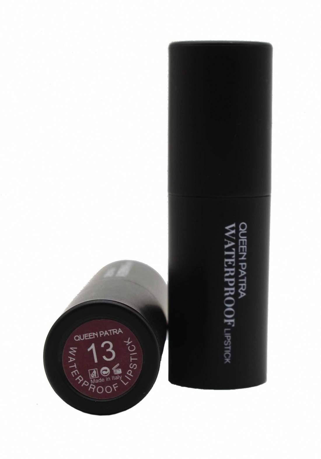 Queen Batra Waterproof Lipstick No.013 احمر شفاه