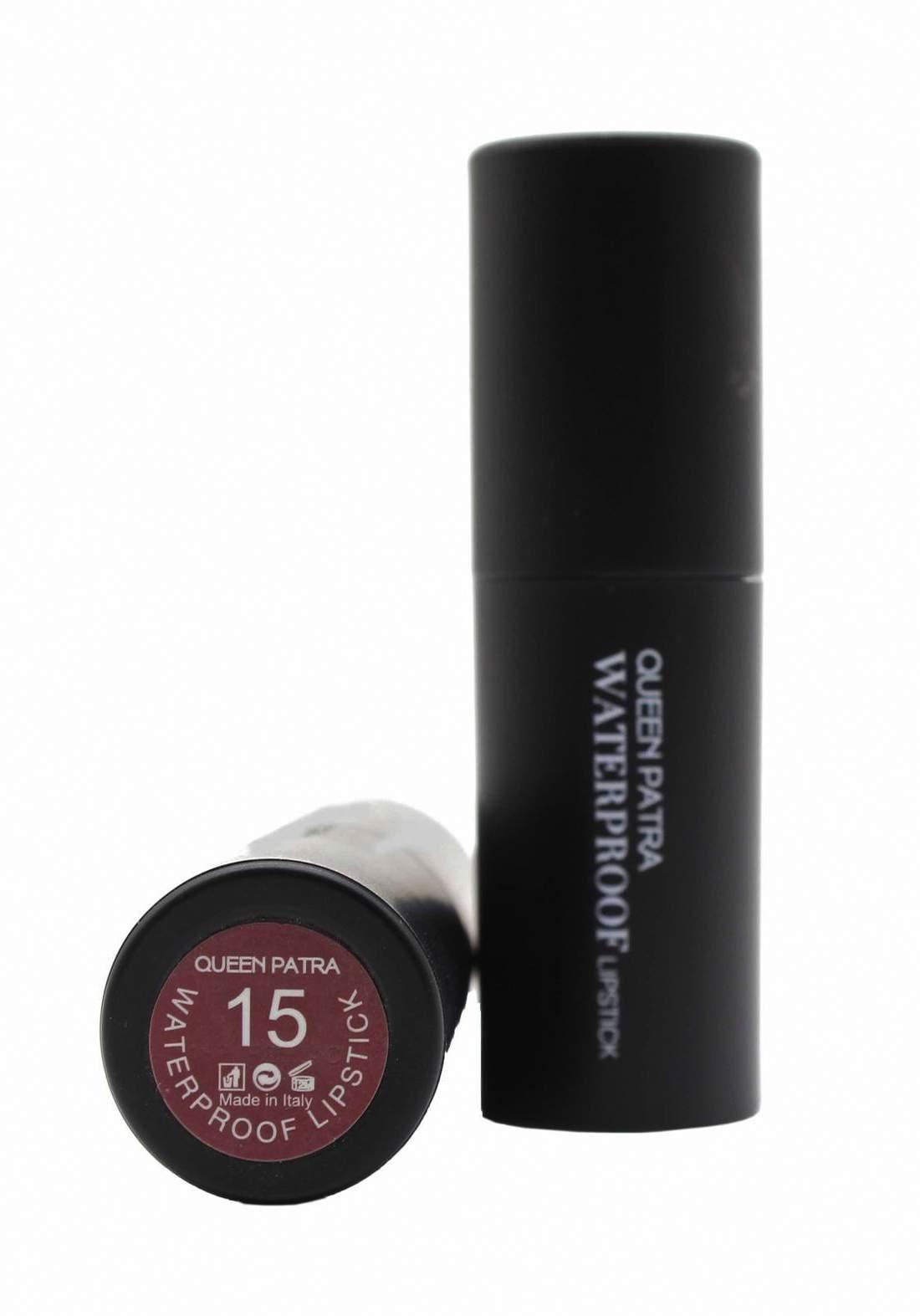 Queen Batra Waterproof Lipstick No.015 احمر شفاه