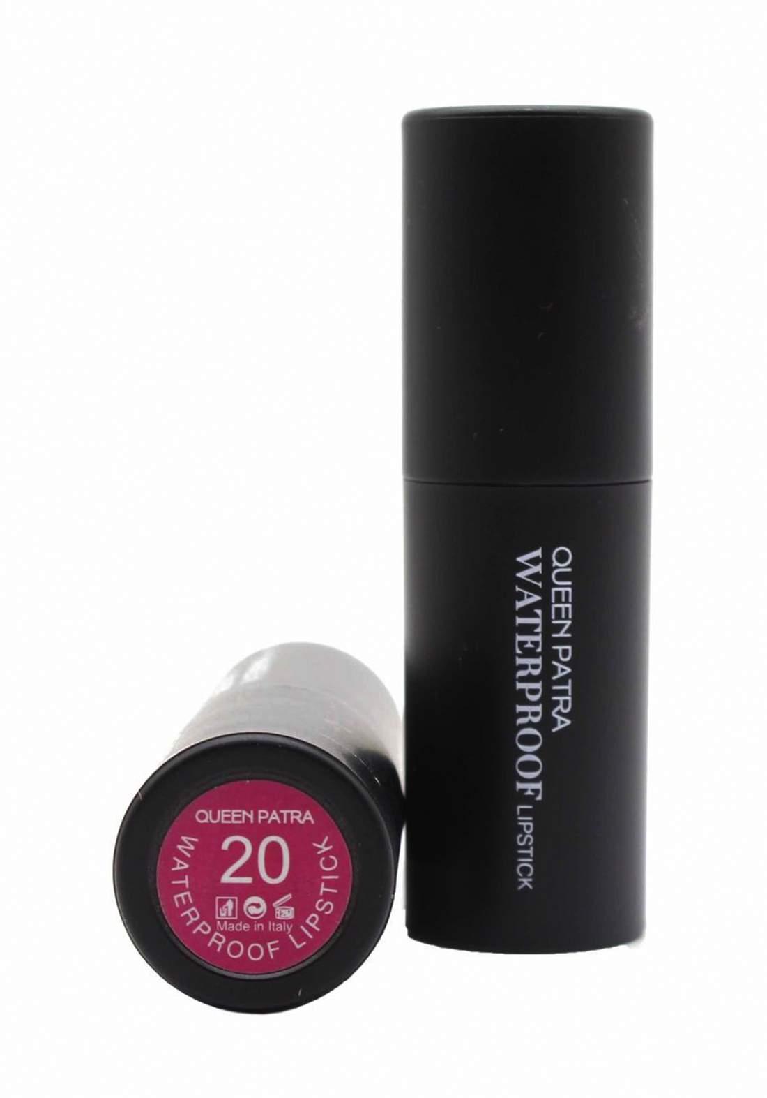Queen Batra Waterproof Lipstick No.020 احمر شفاه