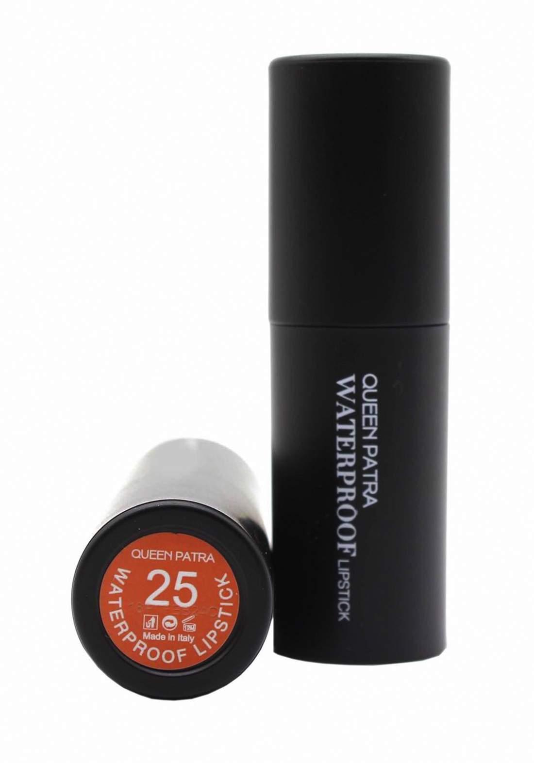 Queen Batra Waterproof Lipstick No.025 احمر شفاه