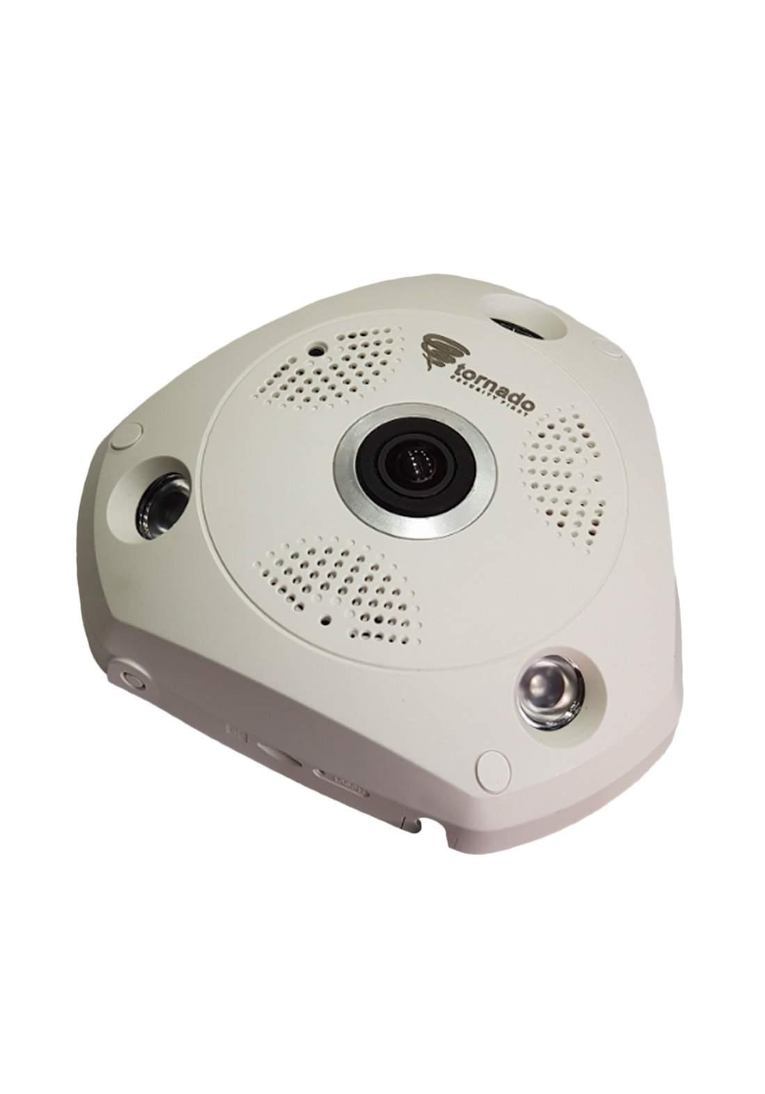 Tornado AHD 2mp Panorama Security Camera - White  كاميرا