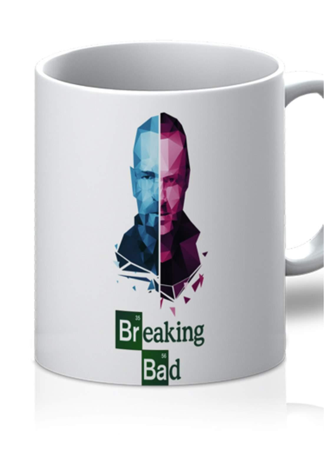 كوب بتصميم Breaking Bad