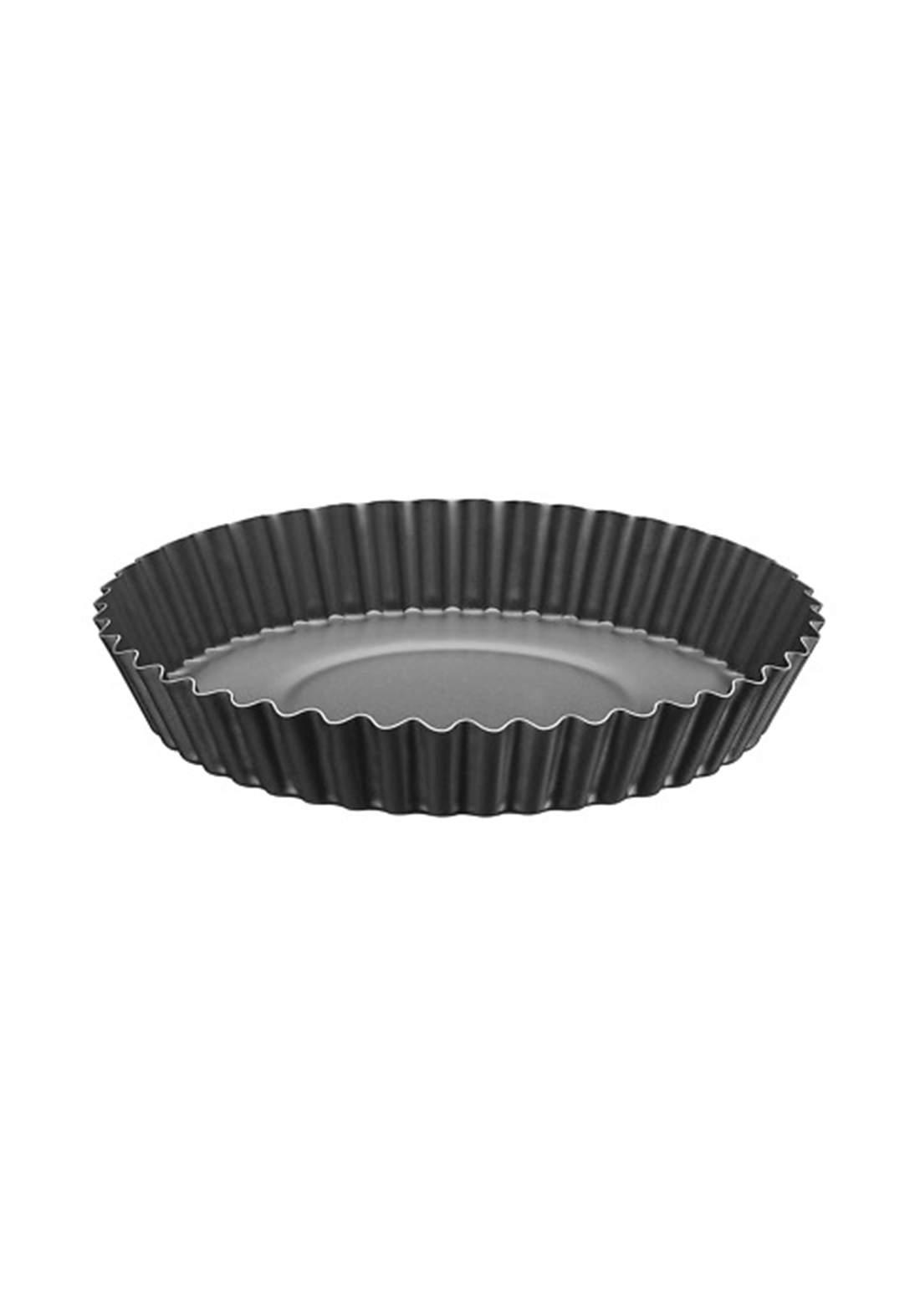 Tramontina '20056-022 Cake Mold Tin 22 cm Black  قالب كيك مقرنص