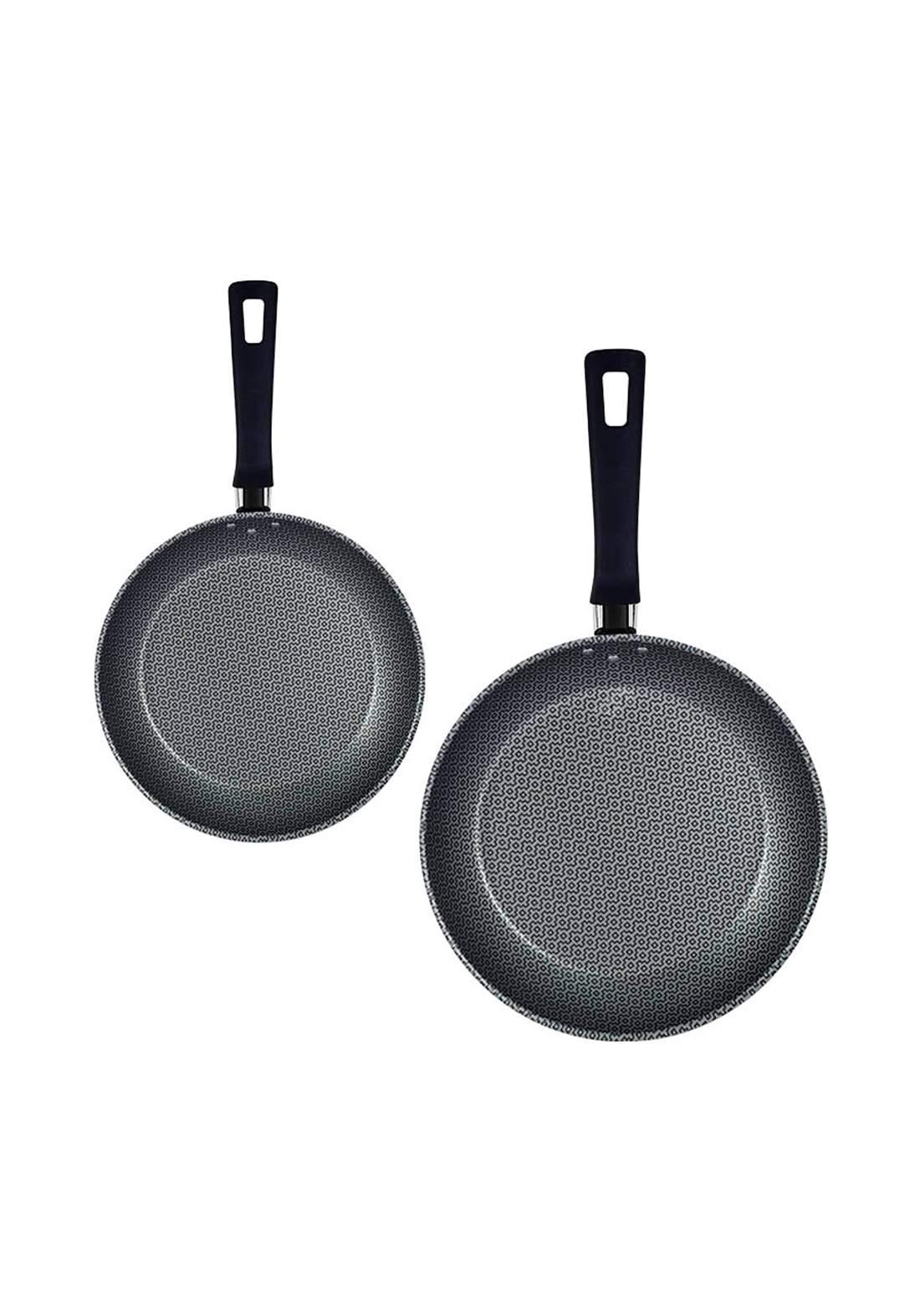 Tramontina '20399-780 Frying Pan Set 20 cm , 24 cm Red سيت قلايات