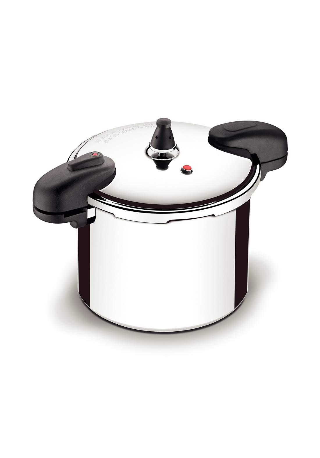 Tramontina '20563-024 Valencia Pressure Cooker 8 L Selver قدر ضغط