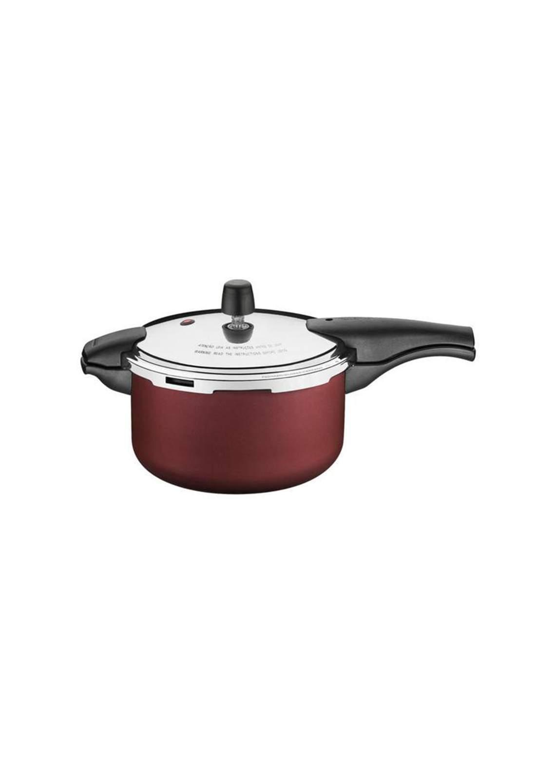 Tramontina '20589-724 Pressure Cooker 6 L Red قدر ضغط