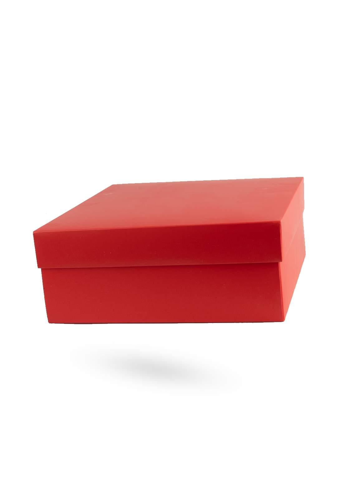 صندوق هدايا احمر اللون