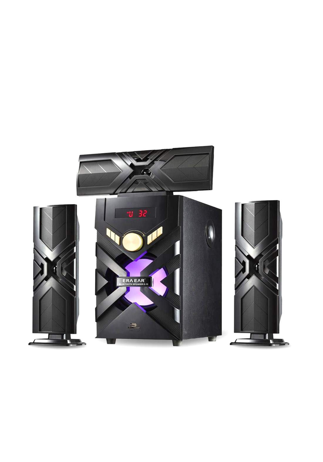 Multimedia Bluetooth Speaker E-13 - Black سبيكر