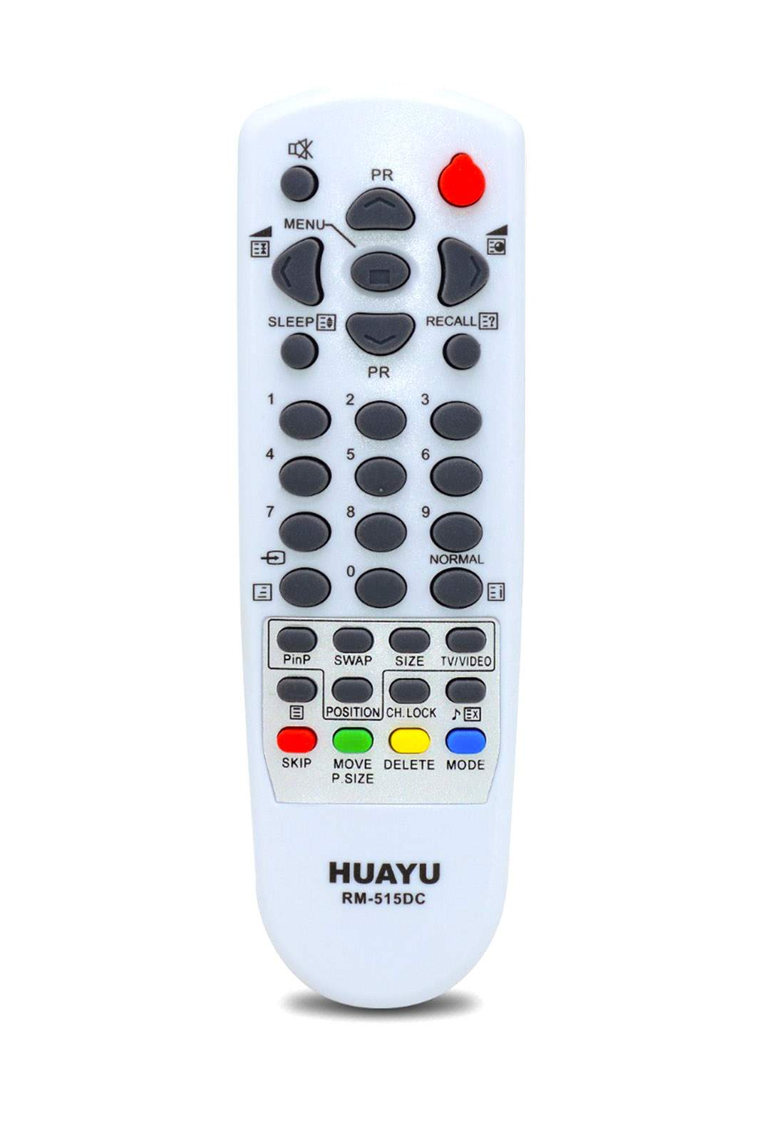 HUAYU Remote Control For Daewoo TV  - White جهاز التحكم عن بعد