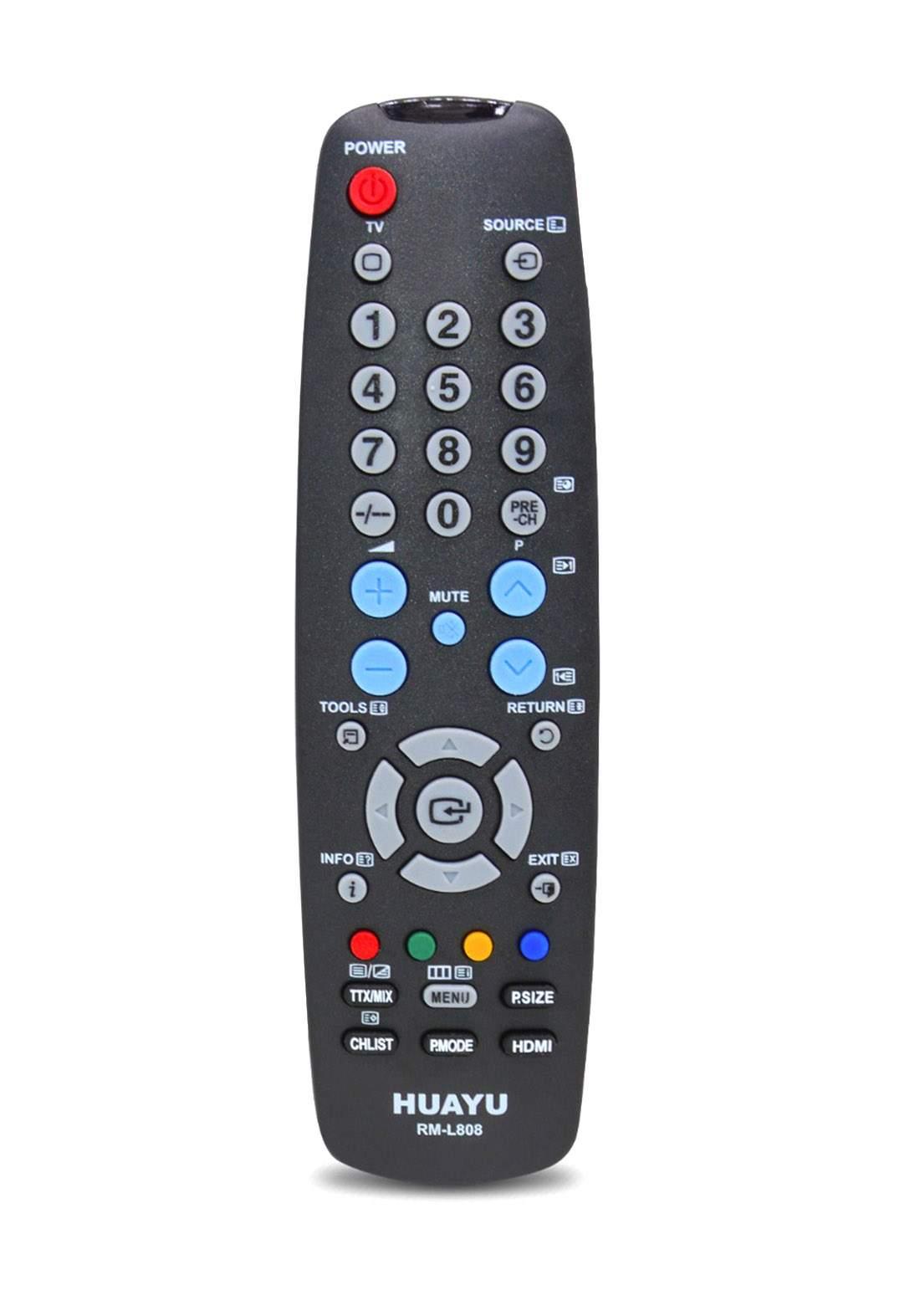HUAYU Remote Control For Samsung TV - Black جهاز التحكم عن بعد