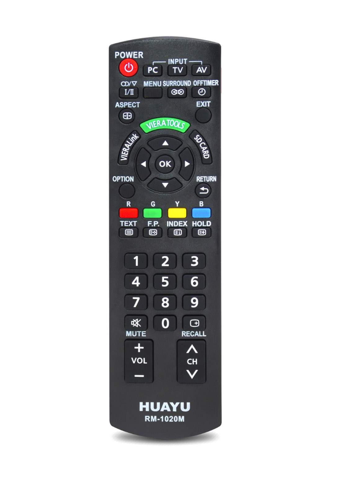 HUAYU Remote Control For Sony TV - Black جهاز التحكم عن بعد