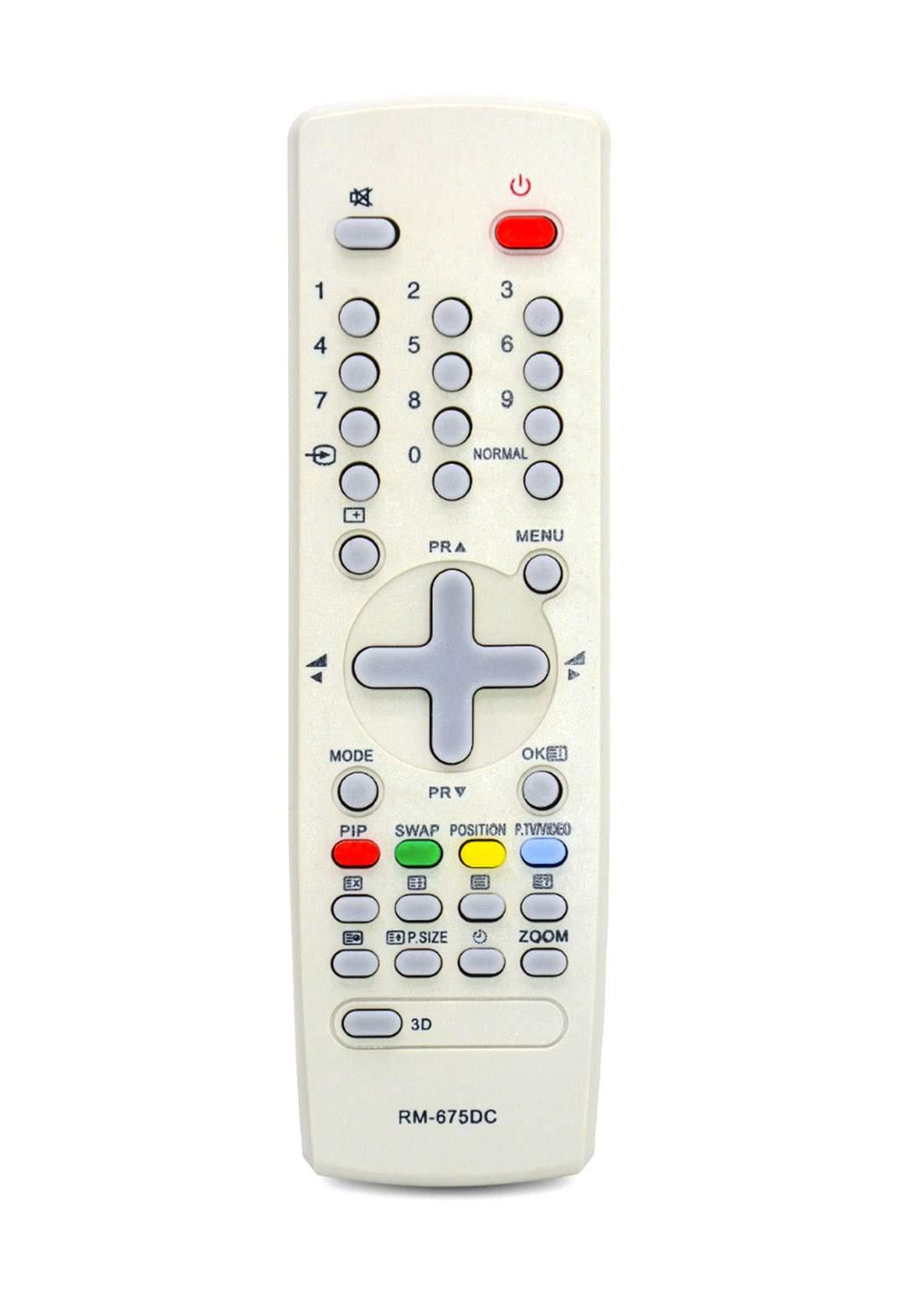 Universal Remote Control For Daewoo TV - White جهاز التحكم عن بعد