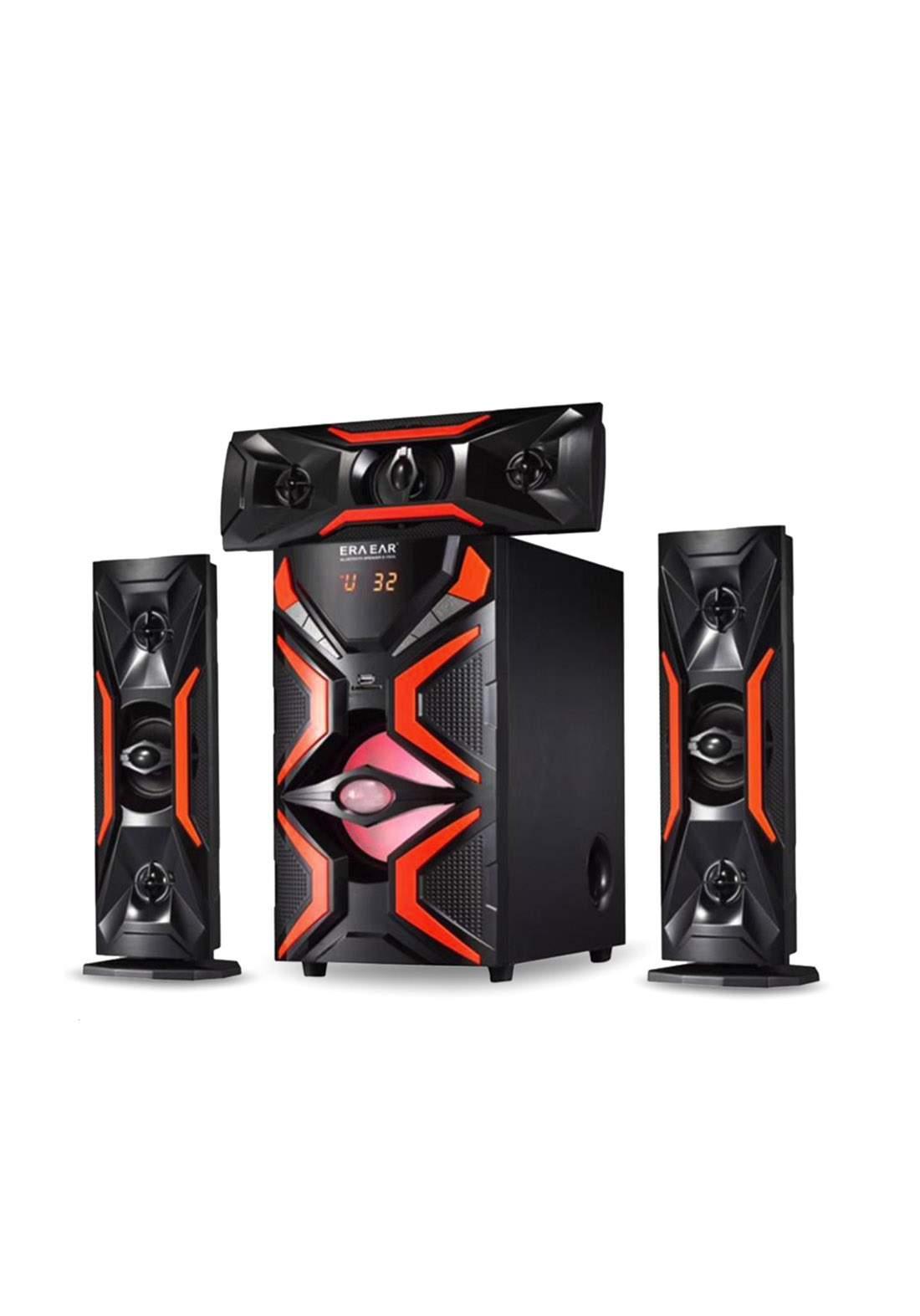 Powerful Bluetooth Speaker E-1503L - Black سبيكر