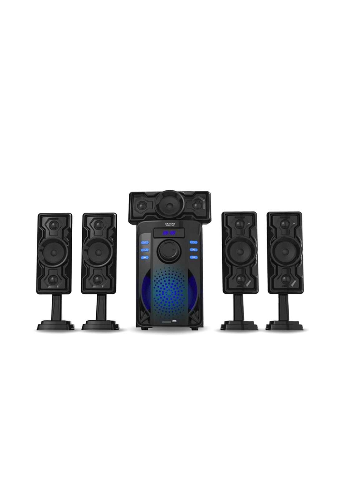 Powerful Bluetooth Speaker E-1925 - Black سبيكر
