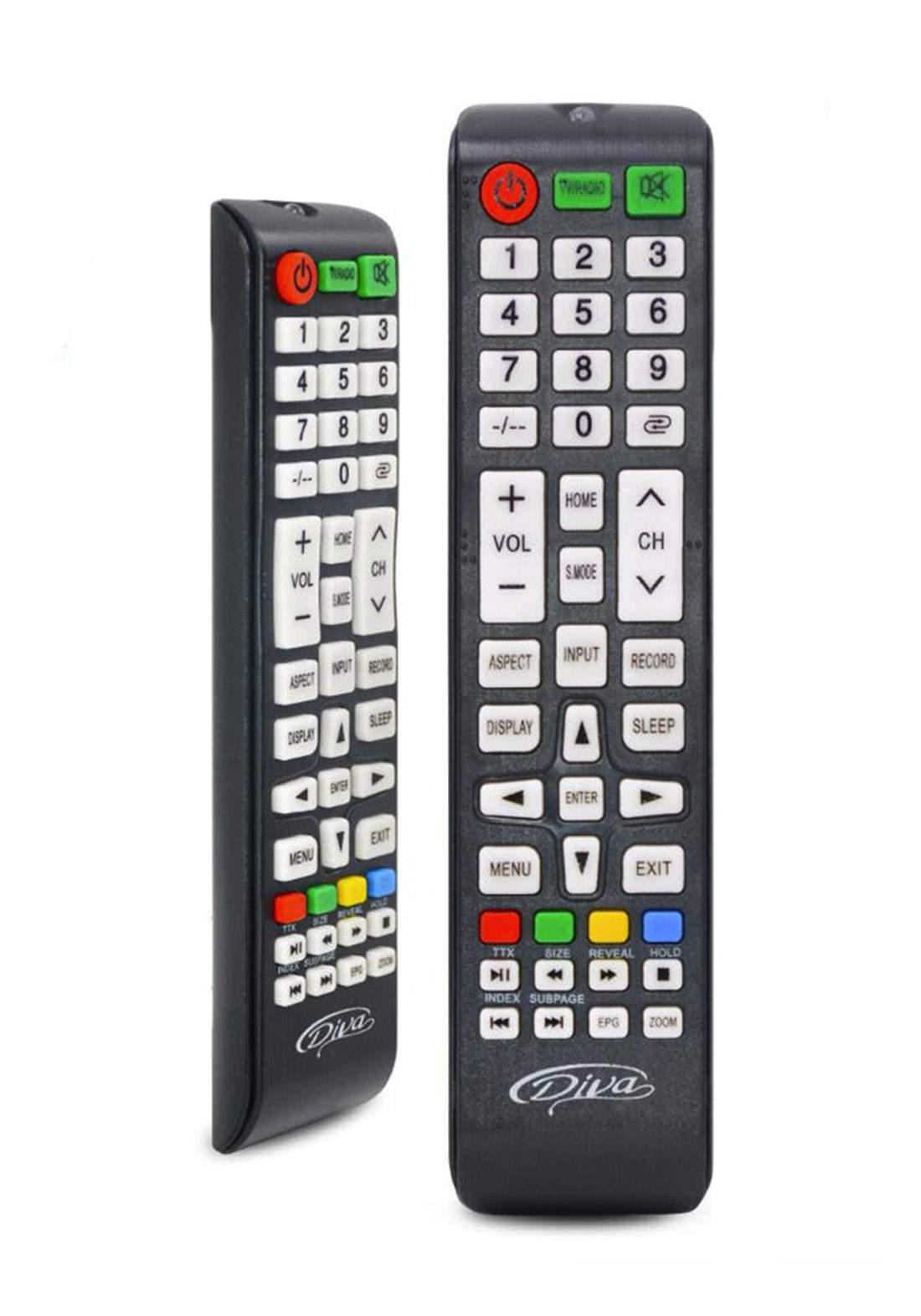 Remote Control For Diva Plasma TV (B-031) جهاز تحكم عن بعد