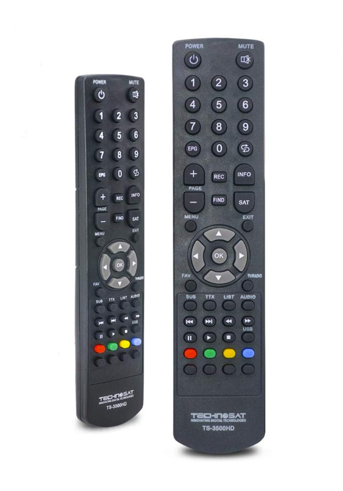 Remote Control For Technosat Plasma TV (A-220) جهاز تحكم عن بعد